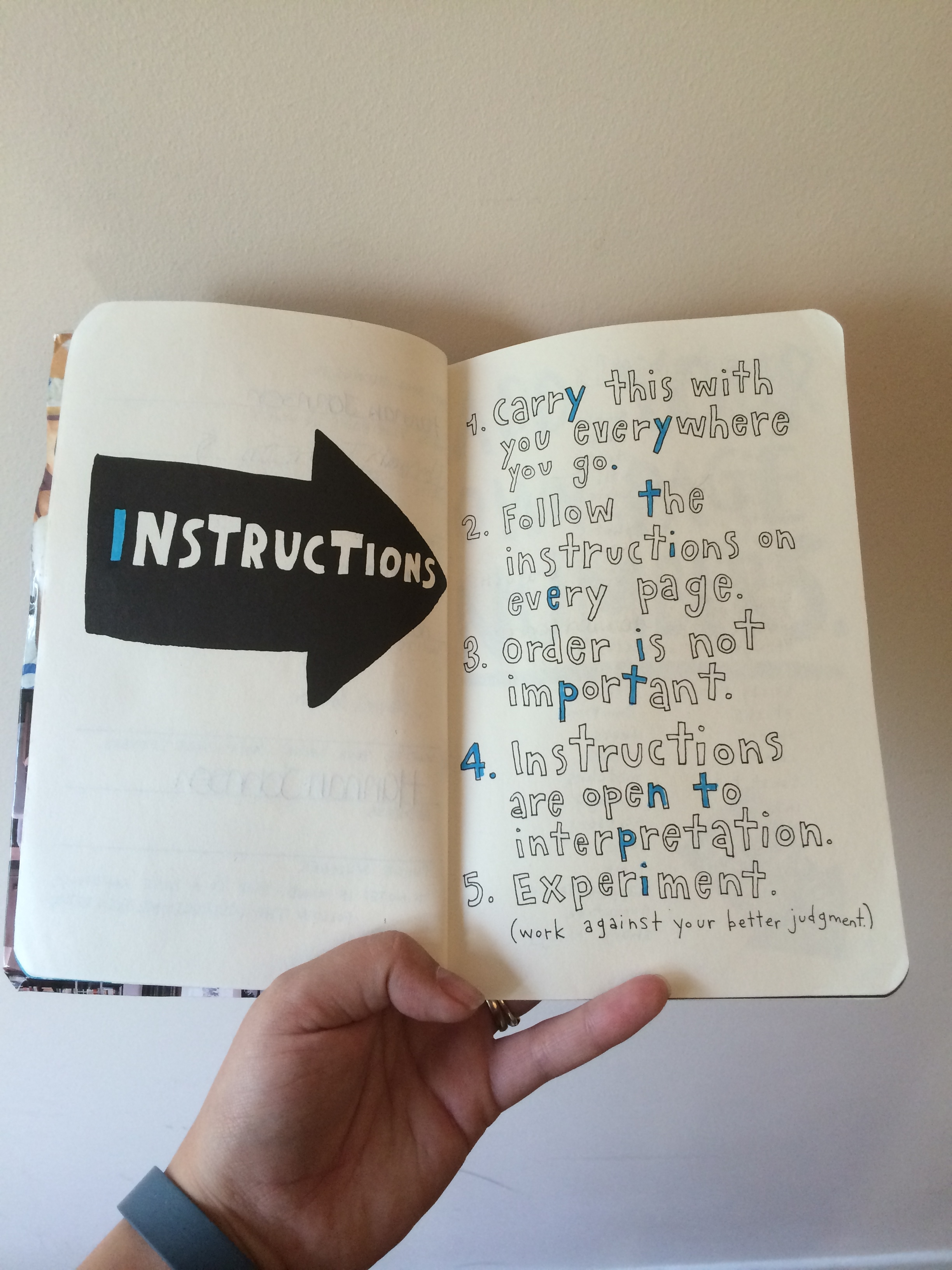Instructions - WTJ - In Progress