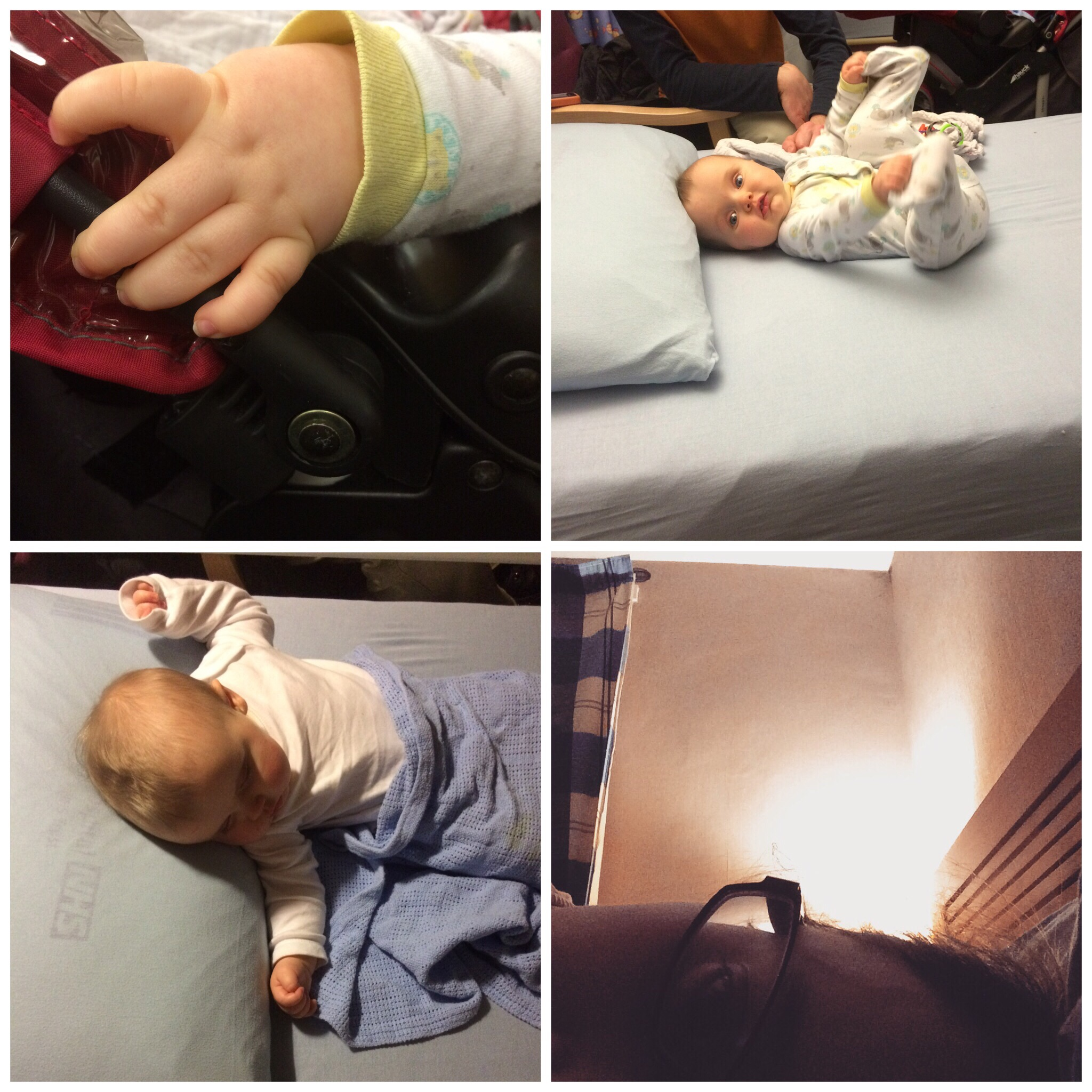 Our second trip to hospital this week